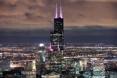 Willis Kontrollturm in Chicago Stockfoto