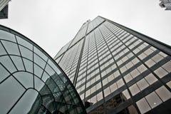 Willis Kontrollturm, der für den Himmel erreicht Stockfotos