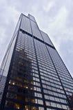 Willis Kontrollturm (Sears Tower) in Chicago Stockbilder
