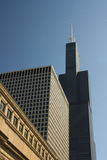 Willis or Sears Tower in Chicago Stock Photos