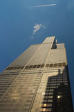 Willis or Sears Tower in Chicago Royalty Free Stock Photo