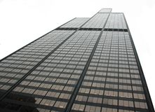 Willis Tower. Reaching for the sky stock images