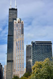 Willis Tower in Chicago city Royalty Free Stock Image