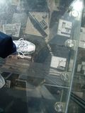 Willis Tower Chicago Skydeck Stock Photo