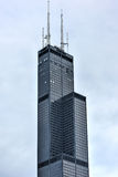 Willis Tower - Chicago. The Willis Tower (still commonly referred to as, Sears Tower) is a 108-story, 1,451-foot (442 m) in Chicago royalty free stock images