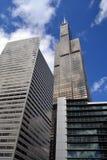 Willis Tower et d'autres bâtiments Chicago, l'Illinois photographie stock