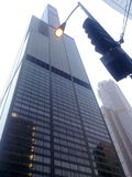 Willis Tower. Ex. Sears Tower at the heart of Chicago Evening time Chicago royalty free stock photos