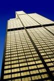 Willis Tower nell'area del ciclo, facciata ad ovest, Chicago fotografia stock