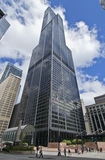 Willis Tower in Summer Royalty Free Stock Photography