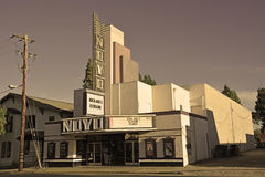 Willits cinema Royalty Free Stock Photography