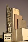 Willits cinema Royalty Free Stock Image