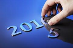 Willkommen 2016 Lizenzfreies Stockbild