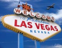 Willkommen nach Las Vegas Lizenzfreie Stockfotos
