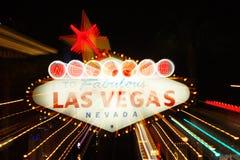 Willkommen nach Las Vegas Stockfotos