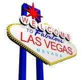Willkommen nach Las Vegas Lizenzfreie Stockfotografie
