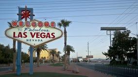 Willkommen nach Las Vegas stock footage