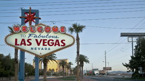 Willkommen nach Las Vegas stock video