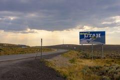 Willkommen nach Utah Lizenzfreie Stockfotografie