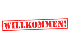 WILLKOMMEN! Royalty Free Stock Photos