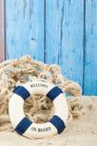 Willkommen am Strand Lizenzfreies Stockfoto
