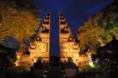 Willkommen zu Bali Indonesien Stockbild