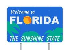 Willkommen zu Florida Lizenzfreies Stockbild