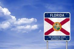 Willkommen zu Florida Stockbilder