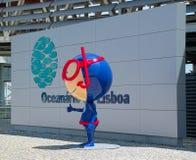 Willkommen zu Oceanarium Stockbilder