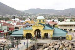 Willkommen zu St. Kitts stockfoto