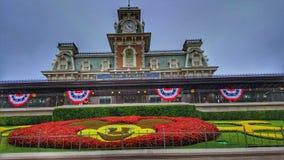 Willkommen zum magischen Königreich bei Walt Disney World lizenzfreie stockfotos