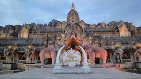 Willkommen zum Palast der Elefanten stockfoto