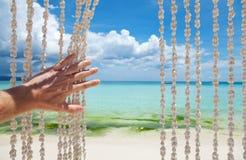 Willkommen zum Paradies Lizenzfreies Stockfoto