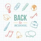 Willkommen zurück zu Schule Lizenzfreie Stockfotografie