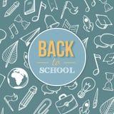 Willkommen zurück zu Schule Lizenzfreie Stockfotos