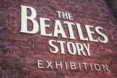 Willkommen zur Beatles-Geschichte Lizenzfreie Stockfotos