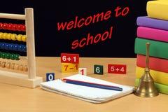 Willkommen zur Schule Lizenzfreie Stockbilder