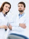 Willkommen zur zahnmedizinischen Klinik Stockfotografie