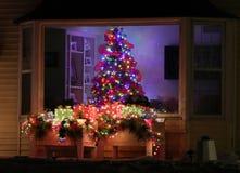 Willkommener Hauptweihnachtsbaum Stockbild