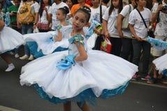 Willkommener Tanz Sayaw ng Pagbati Stockbilder