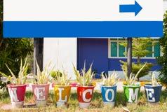 Willkommenes Thailand Stockbilder