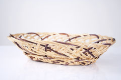 Willow basket Stock Image