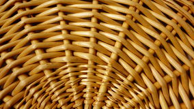 Willow Basket Lid Detail Royalty Free Stock Images