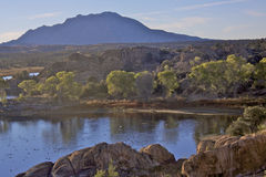 Willow Lake Bay Prescott AZ Stock Image
