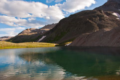 Willow Lake high in the Mount Sneffels Colorado Wilderness Royalty Free Stock Image