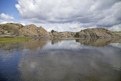 Willow Lake Prescott Arizona Royalty Free Stock Photography
