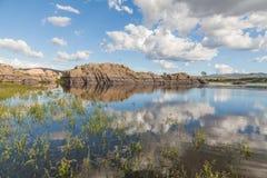 Willow Lake Prescott Arizona. The scenic landscape of willow lake Prescott Arizona Stock Photography