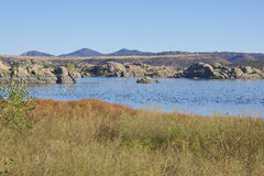 Willow Lake Prescott AZ Stock Photography
