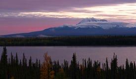 Willow Lake Southeast Alaska Wrangell St Elias National Park stock foto