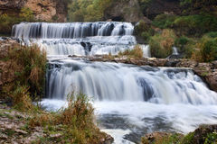 Willow River State Park Waterfall royalty free stock photo