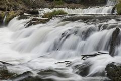 Willow River Waterfall Stock Foto's